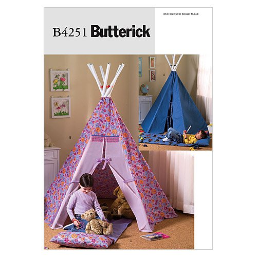 butterick-patterns-b4251-teepee-and-mat-pack-of-1-white