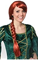 I Love Fancy Dress ILFD2061 Auburn Plait Wig  Adults One Size Fits Most