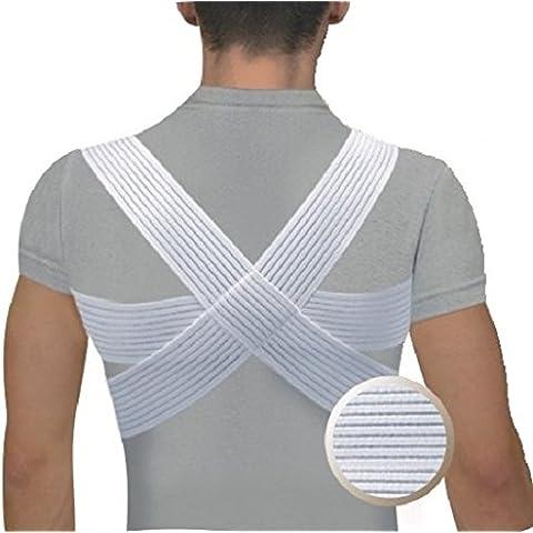 Correttore di postura supporto tutore clavicola per