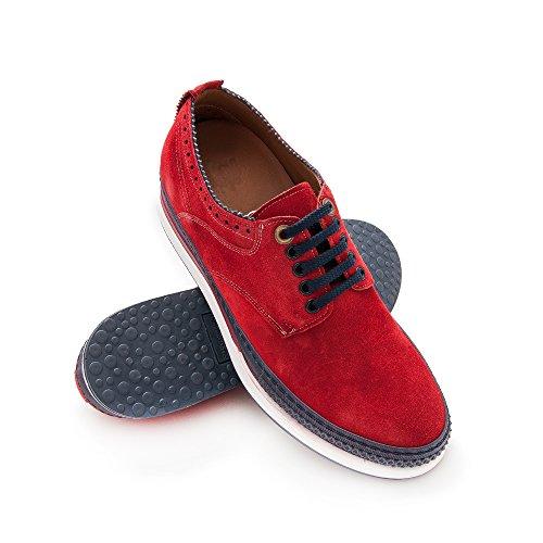 ZERIMAR Zapatos con Alzas Interiores para Hombre Aumento 7 cm | Zapatos de Hombre con Alzas Que Aumentan su Altura