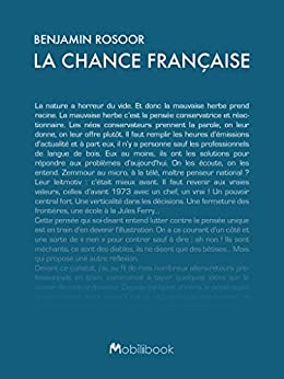 La chance française par [Rosoor, Benjamin]