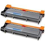 OfficeWorld 2xToner per Brother TN2320 TN-2320 Cartuccia del toner Compatibile per Brother HL-L2300D HL-L2320D HL-L2335DN HL-L2340DW HL-L2360DN HL-L2360DW HL-L2365DW HL-L2380DW HL-L2560DN DCP-L2500D DCP-L2520DW DCP-L2540DN DCP-L2560DW MFC-L2700DW MFC-L2720DW MFC-L2740DW, 2 Nero