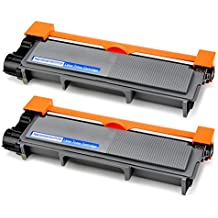 OfficeWorld TN2320 Toner TN-2320 Cartuchos de tóner Compatible para Brother HL-L2340DW MFC-L2700DW HL-L2300D MFC-L2740DW DCP-L2520DW HL-L2360DN DCP-L2500D HL-L2360DW HL-L2365DW MFC-L2720DW, 2 Negro