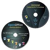 Universal Treiber-Meister CD/DVD für Windows 8 / 7 / Vista / XP (32 & 64 Bit) alle (PC & Laptop) Modelle + OpenOffice Pr
