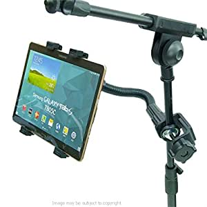 résistant FLEXIBLE MUSIQUE MICRO SUPPORT TABLE SUPPORT pour Galaxy Tab S 10.5 ( SKU 20092)