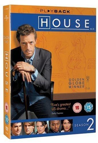 House - Season 2  Hugh Laurie   DVD
