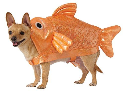 Rubie's Gold Fisch Hund Kostüm