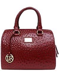 La Roma Green Women's Handbag