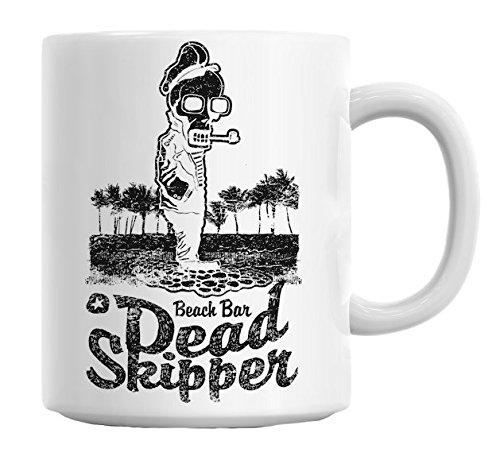 Beach Bar Dead Skipper Mug Cup - Skipper Tee