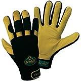 FerdyF Clarino®-Kunstleder Montagehandschuh Größe (Handschuhe): 7, S EN 388 Cat II Trapper 1950