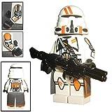 Custom Brick Design 212th ATB Airborne Clone Trooper Figur - modifizierte Minifigur des bekannten Klemmbausteinherstellers und somit voll kompatibel zu Lego