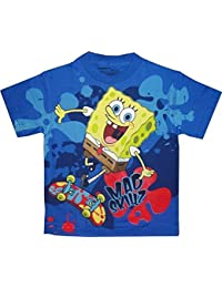 Spongebob Squarepants Mad Skillz Graphic Kind T-Shirt Kind