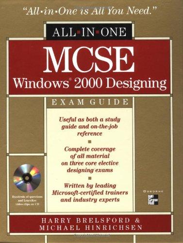 MCSE All-in-one Windows 2000 Designing Exams Guide por Harry M. Brelsford