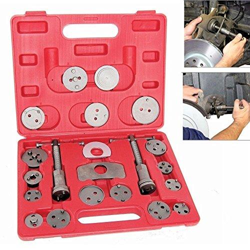 MCTECH 22 tlg. Universal Bremskolbenrücksteller Set Bremssattel Kolben Wind Zurück Tool Kit Bremse Instandsetzung Werkzeug Bremskolben