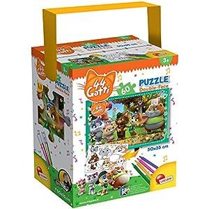 LISCIANI-44 Gatti Puzzle, Multicolor (76604)
