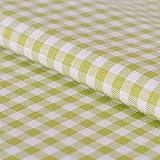 Hans-Textil-Shop Stoff Meterware, Vichy Karo 5x5 mm,