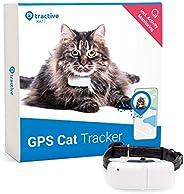 Tractive TRKAT1 IKATI, GPS-tracker Voor Katten, Onbeperkt Bereik, Activiteitenmonitor, Waterdicht, Wit, 7.2 x