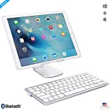 Best Keyboard For I Pad Air - ZAAP® (USA) ULTRA SLIM Bluetooth Universal Keyboard Review