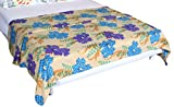 Bombay Dyeing Cherry Printed Double Flee...