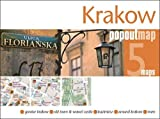 Krakow PopOut Map - handy pocket-size pop up city map of Krakow (PopOut Maps)