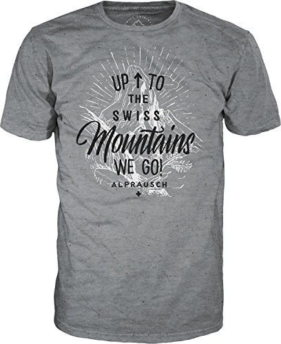 Alprausch Uufstiige T-Shirt fancy grey melange