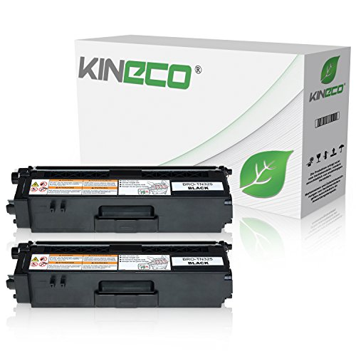 Preisvergleich Produktbild 2 Toner kompatibel zu Brother TN-325 für Brother DCP-9055CDN, DCP-9270, HL-4140, HL-4150, HL-4570, MFC-9460CDW, MFC-9970, MFC-9560 - TN-325BK - Schwarz je 4.000 Seiten
