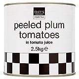 Chef Essentials geschälte Tomaten in Plum Tomatensaft 2,5 kg (1,5 g Abtropfgewicht)
