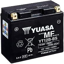 YUASA - Batería YT12B-BS Combipack (con electrolito)