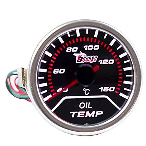 E Support™ 12V Auto Motore 2' 52mm Universale Indicatore temperatura olio