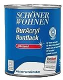 Schöner Wohnen Duracryl Buntlack Glänzend 750 ml, Farbe (RAL):RAL 6002 Laubgrün