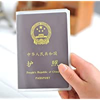 omeny impermeable Pasaporte proteger funda (transparente)