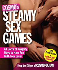 Idea Regalo - Cosmo's Steamy Sex Games: All Sorts of Naughy Ways to Have Fun with Your Lover