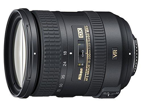 Nikon 18-200 mm f/3.5-5.6 G DX ED VR II - Objetivo para Nikon (Distancia Focal...