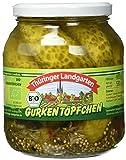 Thüringer Landgarten Bio Gurkentöpfchen, 970 g