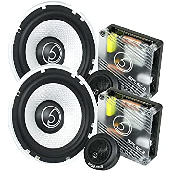 best car speakers for bass. bass face spl6c.2 900w 6.5 inch 17cm component car speaker set best speakers for i