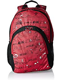 Wildcraft 28 Ltrs LD_Red Casual Backpack (Wiki Sail)