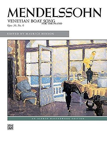Venetian & Gem - Venetian Boat Song, Op. 30, No. 6: