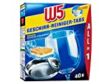 W5 Spülmaschinentabs All-in-One - 40 Pack