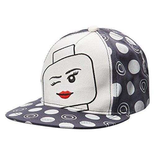 ego Girl Camilla 115-Kappe, Grau (Dark 984), 53 (54) (Lego Friends Köpfe)