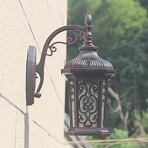 YJNB Classic Cottage Garden Gate E Retrò All'Aperto Terrazza Giardino Terrazza Lampada Da Parete