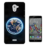 003202 - Earth from space illustration Design Wiko U Feel