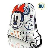 Disney Original Minnie Mouse SKETCHING COLLECTION mädchen kordelzug schuhbeutel rucksack HOHE QUALITÄT