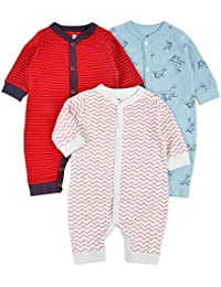 cb70fb7b3 Amazon.in  Reds - Bodysuits   Baby Boys  Clothing   Accessories