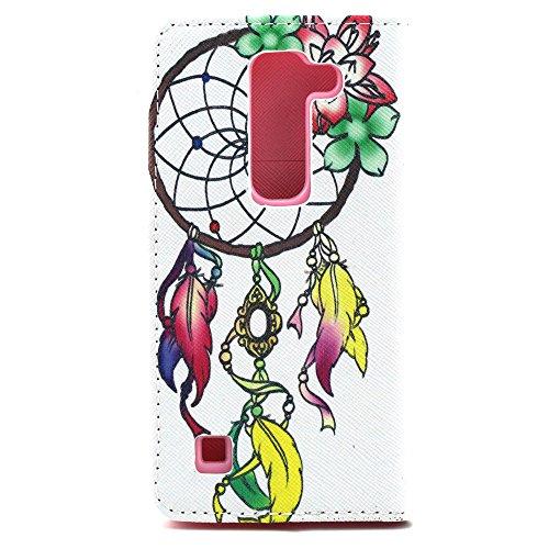 Voguecase® Pour Apple iPhone 6/6s 4,7 Coque, Etui Housse Cuir Portefeuille Case Cover (dream/plume 01)de Gratuit stylet l'écran aléatoire universelle fleur et campanule