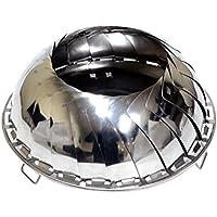 UCO Erwachsene Grilliput Feuerschale, faltbar Grills, Silber, One Size