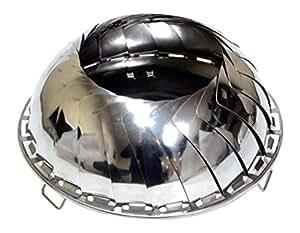 Grilliput Men's Fire Bowl - Stainless Steel