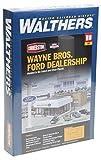 Walthers Cornerstone 933-3483 - Ford-Autohaus Wayne Bros, Gebäude