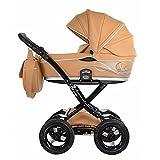 knorr-baby 3752-4 Kombikinderwagen Divano Art, camel