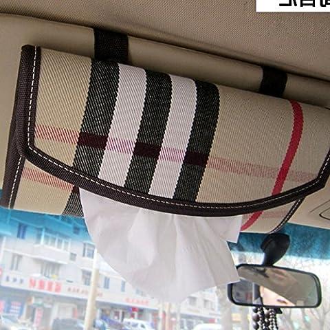 Dossier de chaise, une serviette en papier fort, pare-soleil, d'orthographe, de l'automobile, la décoration intérieure, papier essuie-tout clip, toit de voiture,un type de suspension