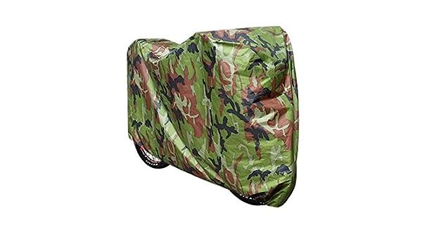 Fahrradschutzhülle Regenschutz Schutzbezug Regen Proof Abdeckplane Camouflage